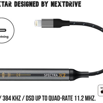 Spectra X2 Hi-Res DAC - Designed by NextDrive
