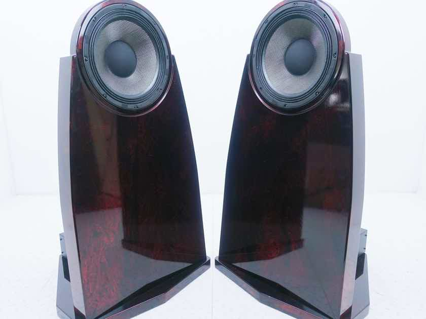 Emerald Physics EP-3.8 Open Baffle Floorstanding Speakers; Custom Finish; DSP (15477)