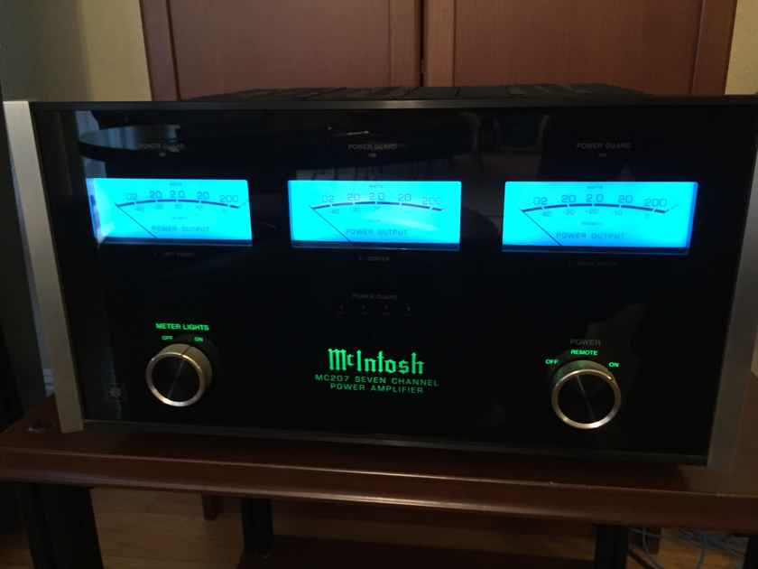 McIntosh MC-207 7-Channel Amplifier..............near San Francisco, CA