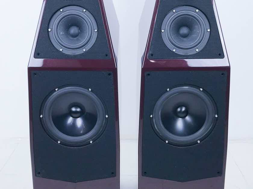 Wilson Audio Sophia 3 Floorstanding Speakers Carmen Red With Flakes (10155)