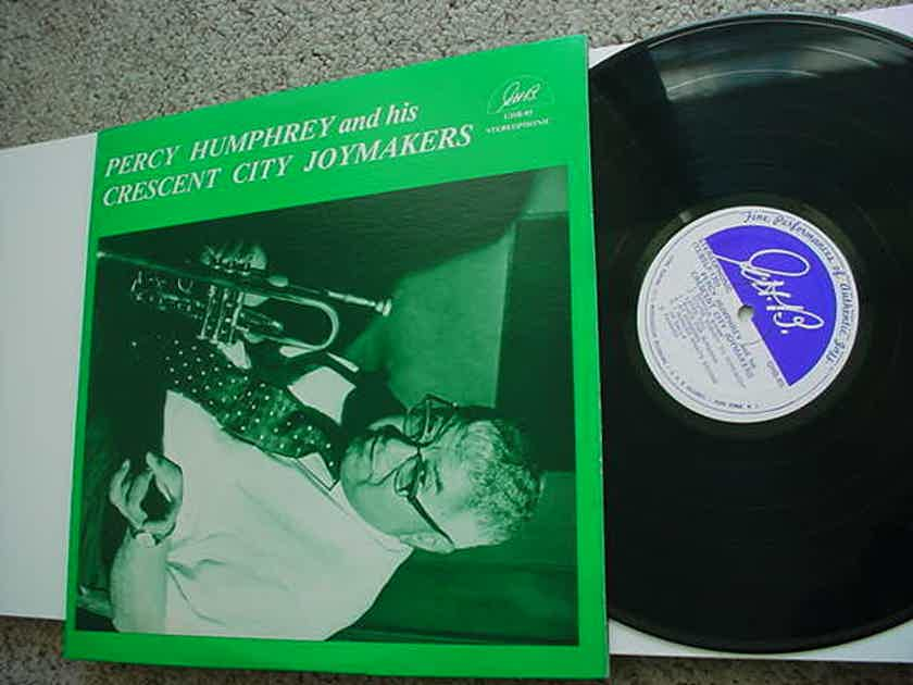 Percy Humphrey and his Crescent City Joymakers lp record New Orleans jazz