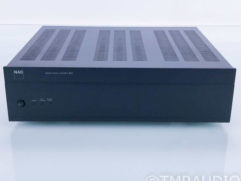 NAD 214 Stereo Power Amplifier  (16743)