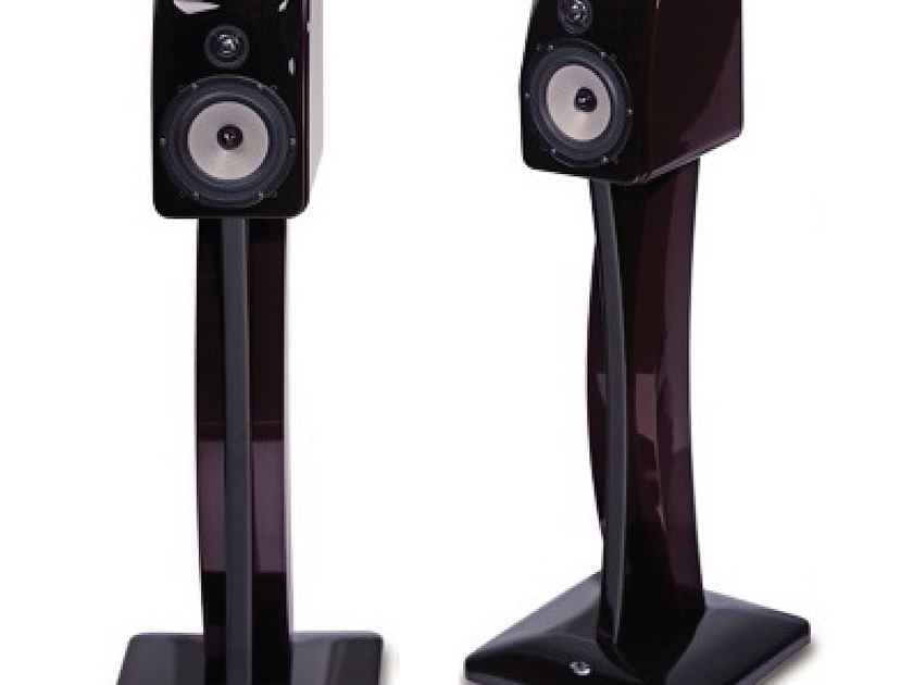 NHT XdS Speakers and matching stands