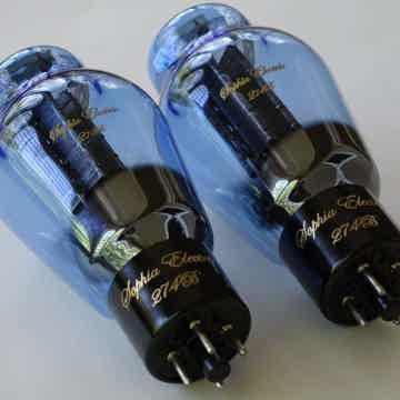 Blue Glass tubes: 6SN7, Aqua 274B, EL34, and KT88