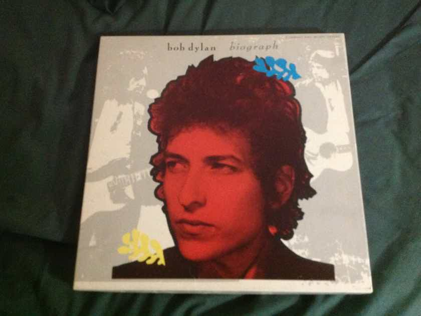 Bob Dylan - Biograph 3 Cd Box Set 12 X 12 Box