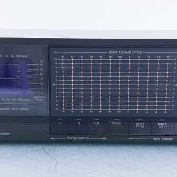 SH-8066 Stereo Graphic Equalizer w/ Microphone; RP-3800E Mic
