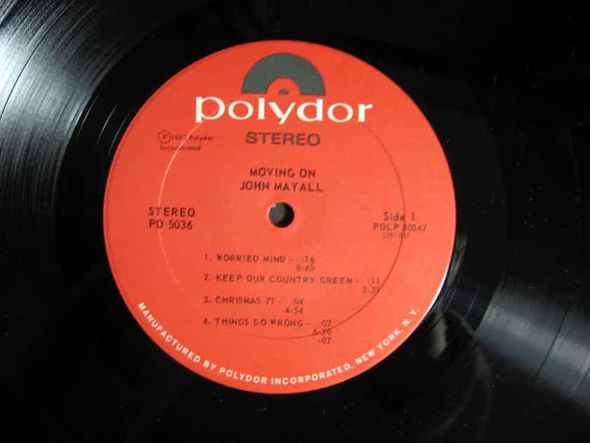 John Mayall - Moving On 1972 NM- Vinyl LP Polydor PD 5036