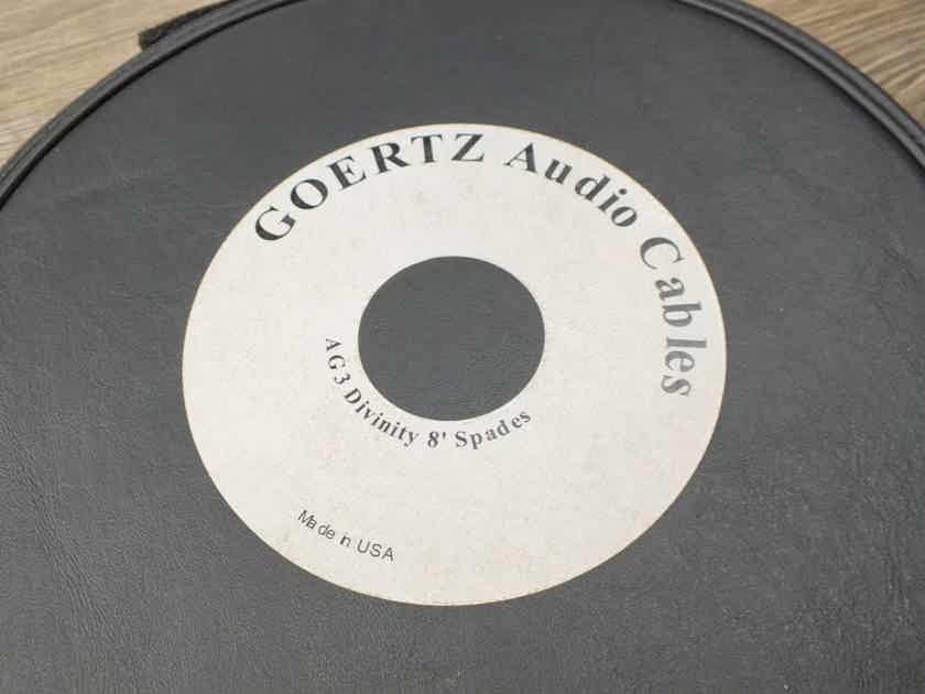 Edit Goertz Alpha Core AG-3 Divinity silver speaker cables 2,5 metre