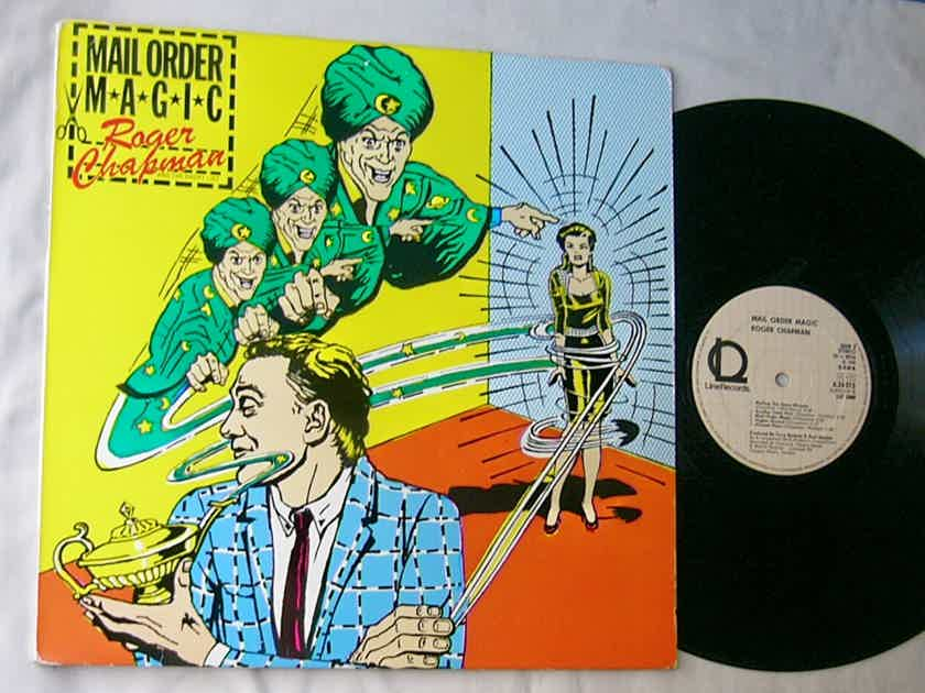 ROGER CHAPMAN -  - MAIL ORDER MAGIC -  RARE ORIG 1980 PSYCH ROCK LP - WEST GERMANY