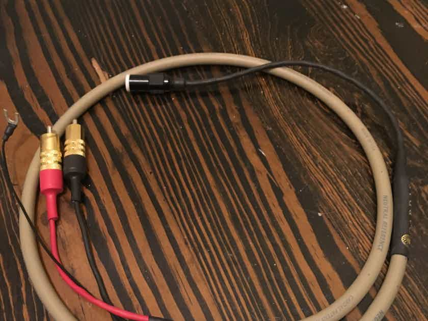 Cardas Neutral Reference Phono cable