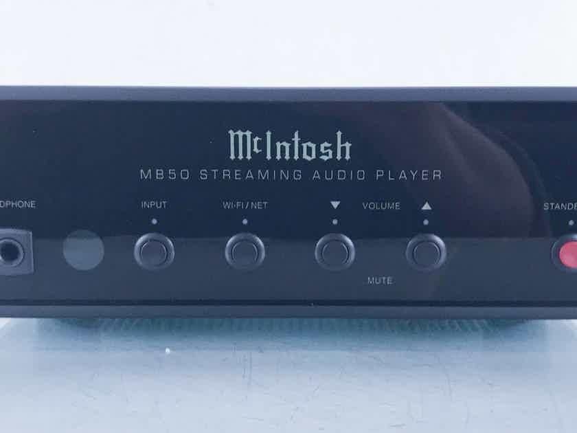 McIntosh MB50 Network Streamer MB-50; Remote (15478)