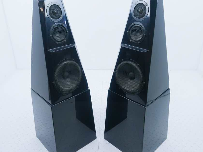 Green Mountain Audio Diamante Floorstanding Speakers Black Marble Pair (13028)