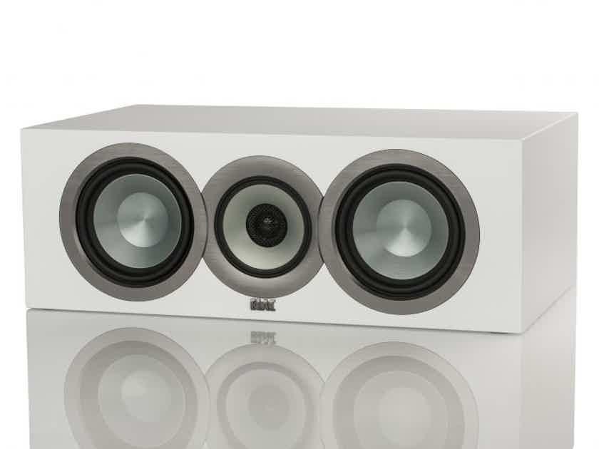 ELAC Uni-Fi Slim CCU5 Center Channel Speaker; White (New/Open Box w/ Warranty) (24904)