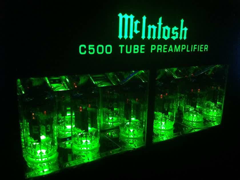 McIntosh C500T & C500C 1 owner tube preamplifier, trade in