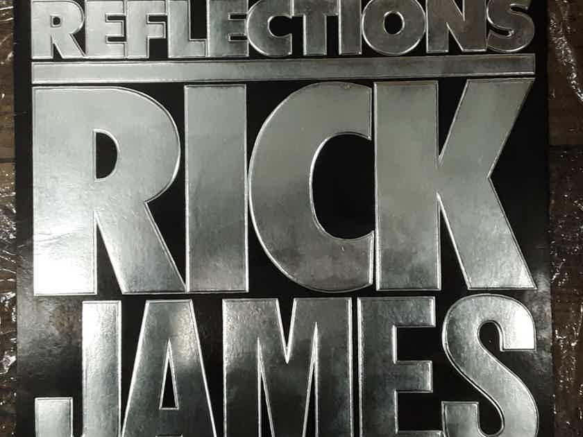 Rick James - Reflections 1984 EX+ Vinyl LP Compilation Gordy Records 6095GL
