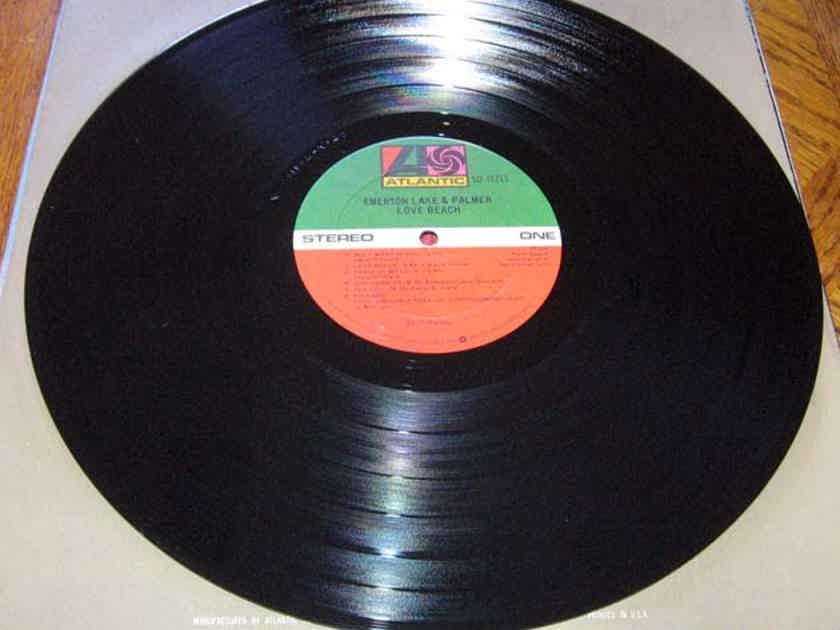 Emerson, Lake & Palmer - Love Beach  - 1978 Atlantic SD 19211