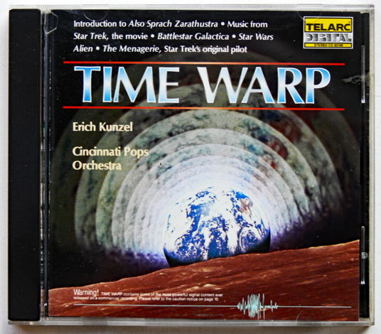 Telarc Time Warp CD