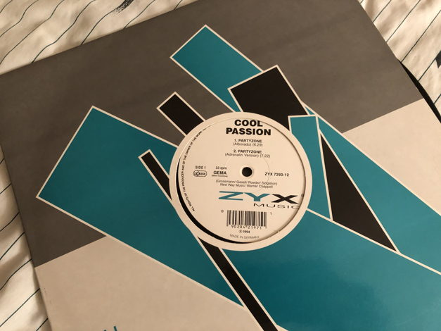 Cool Passion ZYX Records Germany 12 Inch