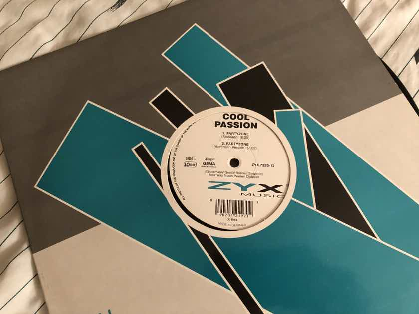 Cool Passion ZYX Records Germany 12 Inch  Partyzone