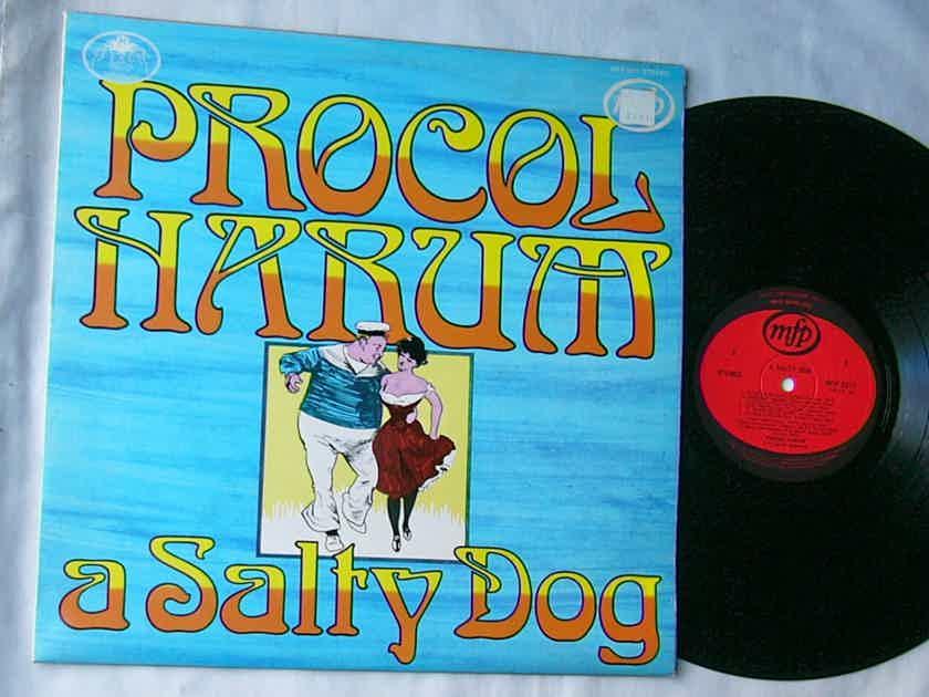PROCOL HARUM - A SALTY DOG - - RARE ORIG 1972 LP -  MUSIC FOR PLEASURE - UK MADE
