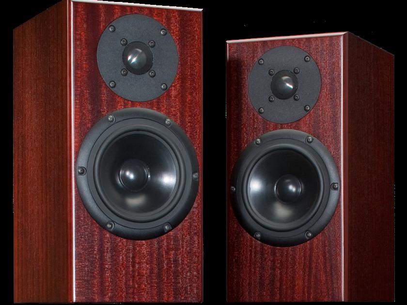 Totem Acoustic Rainmaker Bookshelf Speaker - Mahogany Finish – 1/pair – NEW & UN-OPEN