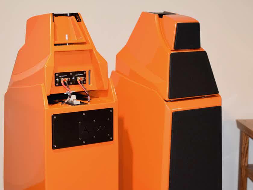 Wilson Audio Alexia 1 Classic Orange Finish