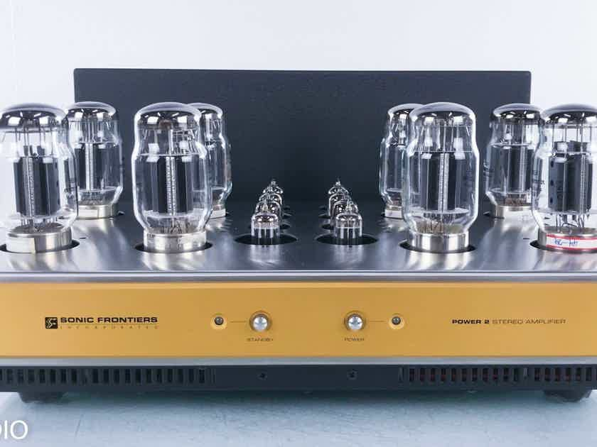 Sonic Frontiers Power 2 Stereo Tube Power Amplifier  (15659)
