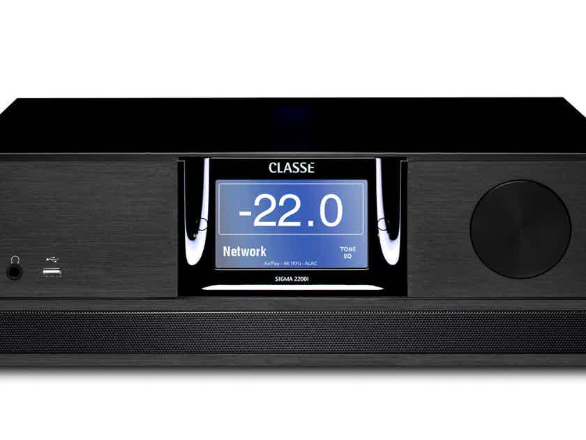 """Classe SIGMA 2200i Integrated BRANDNEW(200/400W@8/4), never opened, STEREOPHILE Class """"A"""" rated !!"""