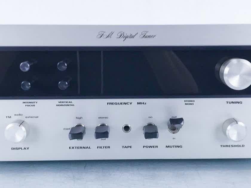 SAE Mark Six Vintage FM Digital Tuner MK VI; AS-IS (No scope; Broken Display) (15707)