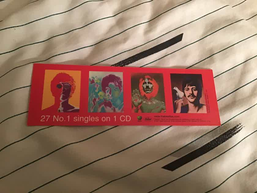 The Beatles  1 Apple Capitol Records Promo Bookmark