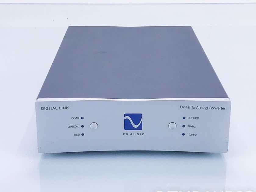 PS Audio Digital Link III Upsampling DAC D/A Converter; DL-3; DLIII (16729)