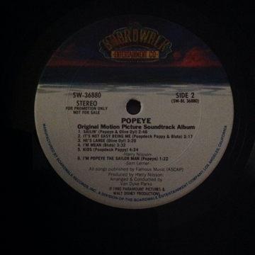 Soundtrack Popeye
