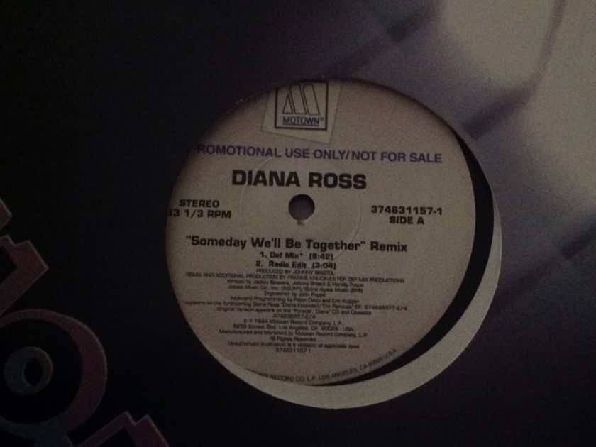 Diana Ross - Someday We'll Be Together Motown Records Promo 12 Inch Vinyl Remix EP