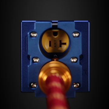 Audio Reference Technology Wallplate with Clamps