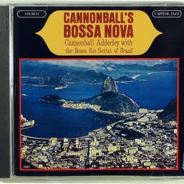 CANNONBALL ADDERLEY CANNONBALL'S BOSSA NOVA CAPITOL JAZ...