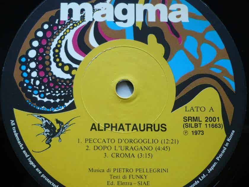 Alphataurus - Alphataurus (P) 1973 Magma. Si-Wan Records. Yeh Eum, 1992. South Korea.