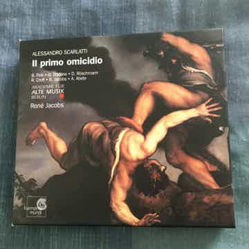 Alessandro Scarlatti Rene Jacobs  II primo Omicidio Cd set 1998 Germany