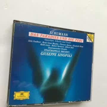 Schumann Giuseppe Sinopoli  Das Paradies Und Die Peri Cd set Deutsche Grammophon 1995