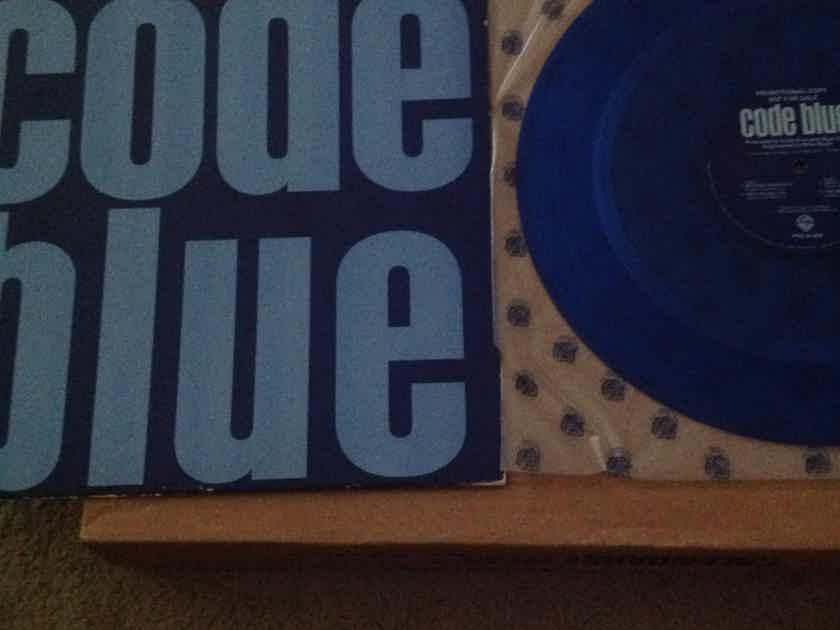 Code Blue - Code Blue Warner Label Blue Vinyl 12 Inch Promo EP Nigel Gray Producer