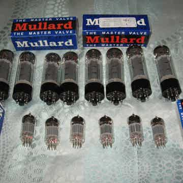 Mullard  VacuumTubes EL34 and 12au7