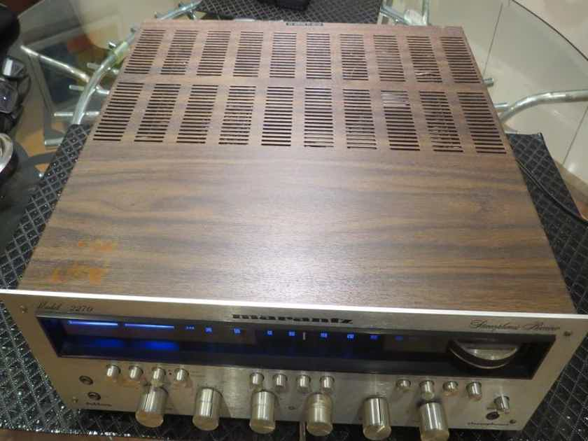 Marantz 2270 new led lights revised with original owner manual *free shipping*