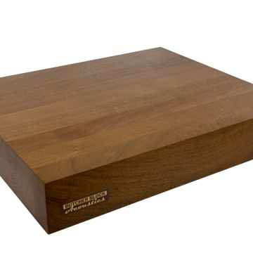 "Butcher Block Acoustics 18"" X 15"" X 3"" Walnut Edge-Grain Audio Platform"