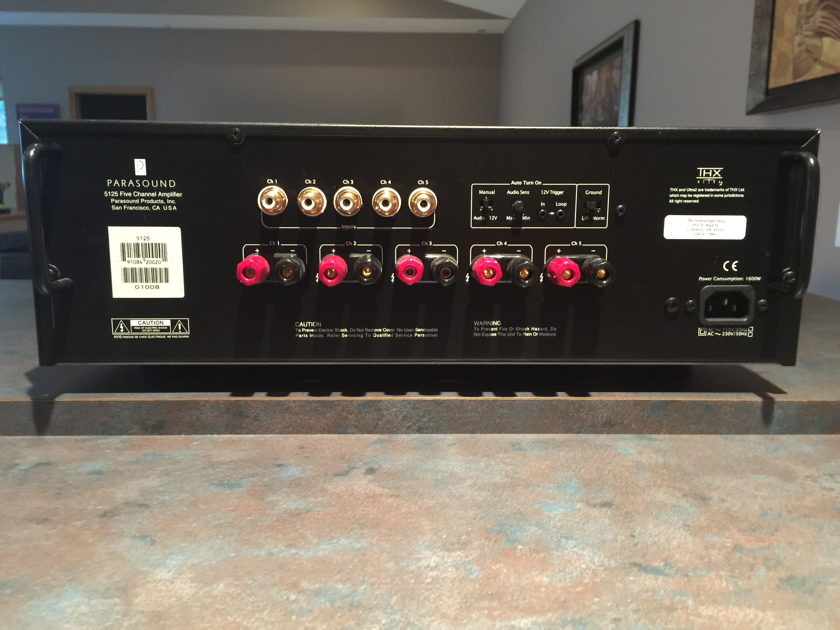 Parasound  5125 Five channel Amp THX