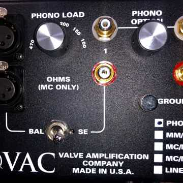 VAC Preamp phono & line stage combo