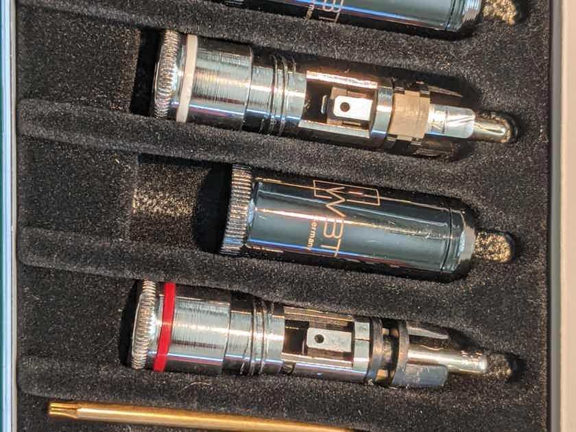 WBT Nextgen 0102 Ag RCA Plug