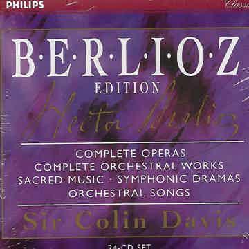 Berlioz Edition - 24 CD Sir Colin Davis - Philips