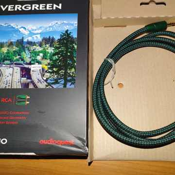 AudioQuest Evergreen 3.5mm to RCA Interconnect