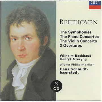 Beethoven: Symphonies, etc. Schmidt-Isserstedt DECCA
