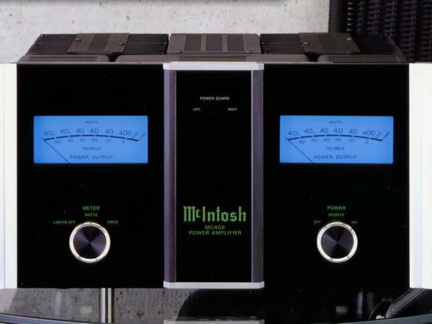 McIntosh MC402 Stereo Power Amp