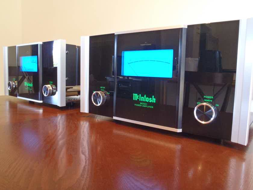 McIntosh MC-501 Monoblock Amplifier Pair - Mono Amps Amp